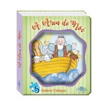 Janelinha lenticular biblica com qc - a arca de noe - todolivro -