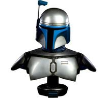 Jango Fett Star Wars Life-size Bust By Sideshow Collectibles -