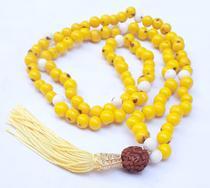 Japamala Budista 108 - Açaí e Rudraksha - Diversas Cores - Caminho Para Meditação