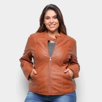 Jaqueta City Lady Plus Size Feminina -