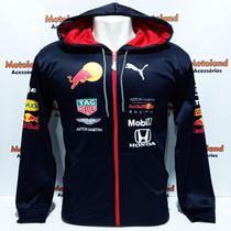 Jaqueta Corta Vento Blusa Fina Red Bull Formula 1 Gp Velocidade Moto RB20 -