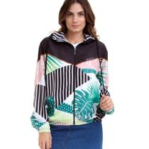 Jaqueta Corta Vento Feminina Roxy Pop Surf -