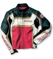 Jaqueta De Couro Ducati Dainese Tamanho 50 -