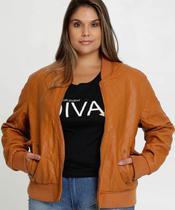 Jaqueta Feminina Bomber Matelassê Plus Size Marisa -