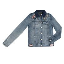 Jaqueta Jeans Authoria Trucker Over Sided