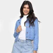 Jaqueta Jeans Cambos Feminina -