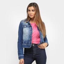 Jaqueta Jeans Malwee Feminina -