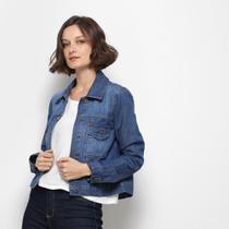 Jaqueta Jeans Mercatto Feminina -