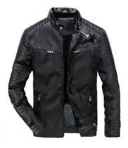 Jaqueta masculina motoqueiro resistente G - Propria