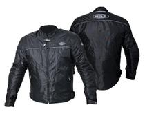 Jaqueta Motociclista Masculina Helt Daytona Nylon Resistente À Água C/ Proteções -