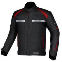 Jaqueta motociclista X11 One 2 Masculina Preta e Vermelha -