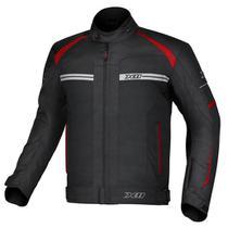 Jaqueta one 2 nylon preto/vermelho (g) - x11 -