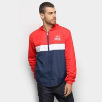 Jaqueta Red Bull Windbreaker Tricolor Masculina -