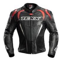 Jaqueta Texx Sniper Couro Moto Lançamento Masculina -