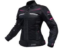 Jaqueta X11 Breeze Feminina Rosa Impermeável Motociclista -