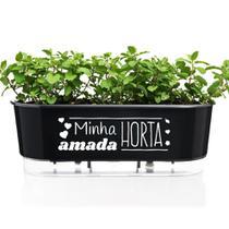Jardineira Raiz Auto Irrigável Floreira Minha Amada Horta -