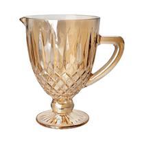 Jarra 1 litro de vidro âmbar bico de jaca Greek Bon Gourmet - 35437 -