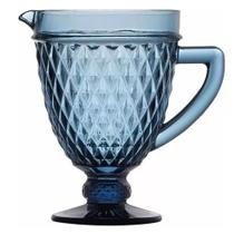 Jarra Bico de Jaca água suco drink 1 Litro Azul - Hauskraft