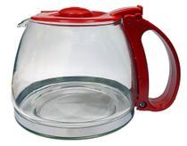 Jarra Compatível para Cafeteira Britânia CP15 Inox Vermelha - Mistral