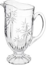 Jarra cristal palm tree 1,5l transparente - Rojemac