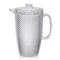 Jarra de Acrilico para Suco ou Agua com Tampa 3 Litros Transparente -