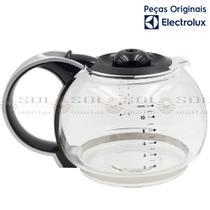 Jarra de Vidro 1,5 L Original para Cafeteira Electrolux CM300 com tampa preta -