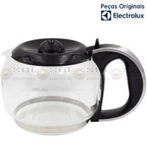 Jarra de Vidro 1,5 L Original para Cafeteira Electrolux CM500 com tampa preta -