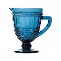 Jarra de Vidro Azul Libélula 1L - Decorafast