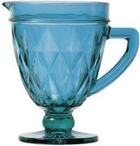Jarra de Vidro Diamond Lyor Azul 1L - 6497 -