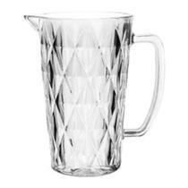Jarra de Vidro Diamond Transparente 1 litro Lyor -