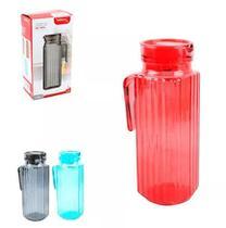 Jarra de vidro francesa color 1 litro - Preta - Comercial gomes