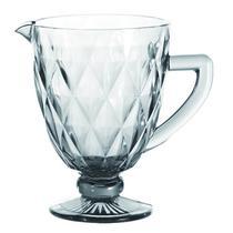 Jarra de vidro transparente Matelassê 1000ml - Dynasty