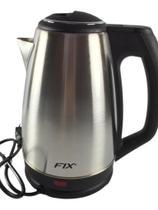 Jarra elétrica FIX Jarra inox prateada 110V 1.8L -