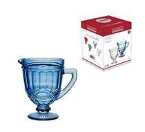 Jarra em vidro 1L azul Elegance - Hauskraft -