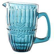 Jarra em vidro para água/suco 1,6l Fratello Azul- L'hermitage -