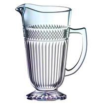Jarra Palace em vidro com pe 1,2L cor furta cor - L Hermitage