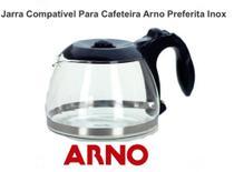 Jarra Para Cafeteira Arno Preferita Inox -