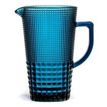 Jarra Quadriculada Azul 1,5 Litros - Decorafast Plus