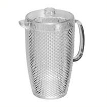 Jarra Transparente em Acrílico Diamond 2,5L - Bono