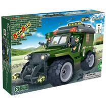 Jeep Militar Força Tática 129 peças - banbao -