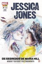 Jessica Jones-Edição 2-Os segredos de Maria Hill-Marvel -