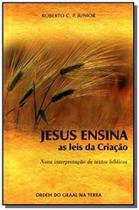 Jesus ensina as leis da criacao - Ordem do graal