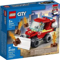 Jipe de Assistência dos Bombeiros Lego City -