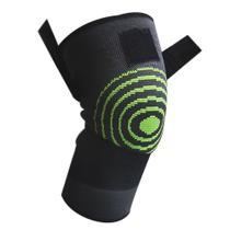 Joelheira 3D Elastica Exercício Compressão Fitness Estabilidade  Joelhos bandagem Academia Apoio Suporte Articulação - Braslu
