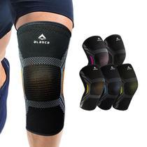 Joelheira de Compressão Sense Alasca para corrida, musculação, futebol e ciclismo.Ideal para alívio da dor e prevenção. -