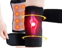 Joelheira Magnética Turmalina Ortopédica Artrite - 2 Unids. - Workout