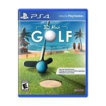 Jogo 3D Minigolf  - PS4 - Pqube