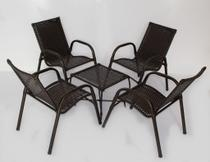 Jogo 4 Cadeiras e Mesa Emily - Trama Original