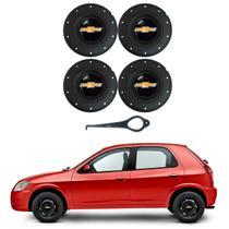 Jogo 4 Calota Centro Roda Amarok Gm Celta Corsa Aro 13 14 15 - 3M Commerce