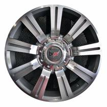 Jogo 4 rodas aro 14 BRW 600 4x100 / 4x108 Chrome Black Diamond tala 6 ET35
